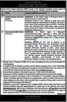 Benazir Income Support Program Jobs 2021 Apply Online