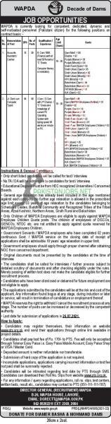 WAPDA Jobs July 2021 www.pts.org.pk Apply Online