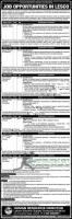 Lahore Electric Supply Company (LESCO) Is Hiring! - 2021 Ad