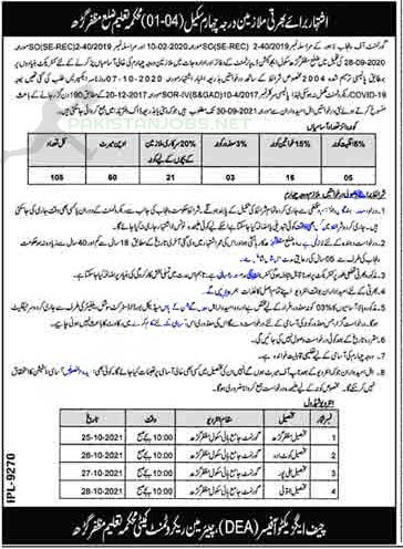 District Education Authority Jobs September 2021