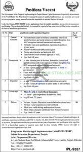 Punjab Department Of School Education Jobs 2021