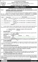 JOB OPPORTUNITIES Federal Public Service Commission 2021