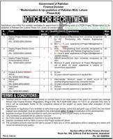 Jobs In Pakistan Finance Department In 2021