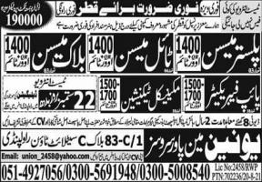 Jobs IN QATAR For Skilled Workers 2021
