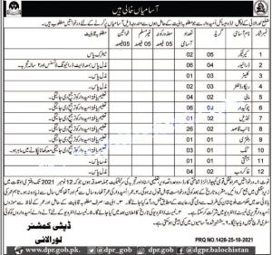 DC Deputy Commissioner's Office Jobs 2021