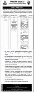Pakistan Railways Jobs Oct 2021