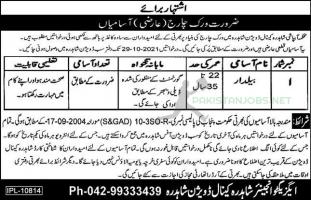 Jobs in the Irrigation Department 2021